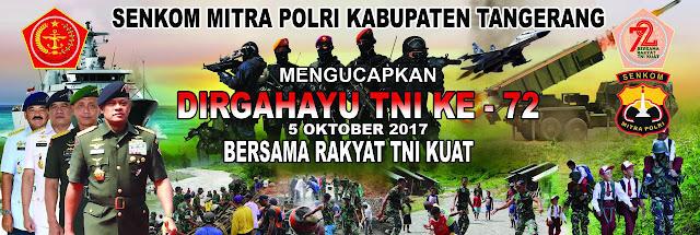 LOGO DAN TEMA HUT TNI KE 72