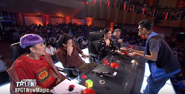 Jeptha Callitong's Closed-Up Magic Tricks Stunned The PGT Judges!