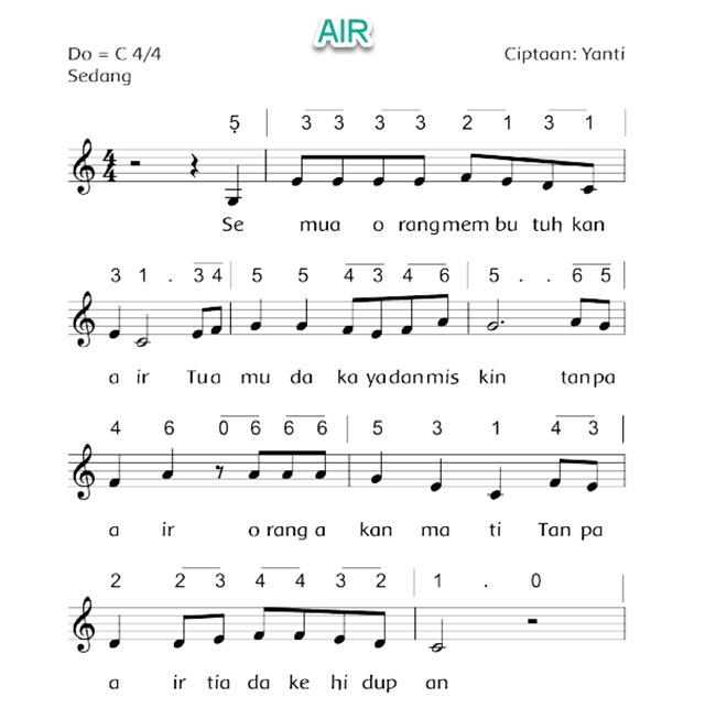 Lagu Air