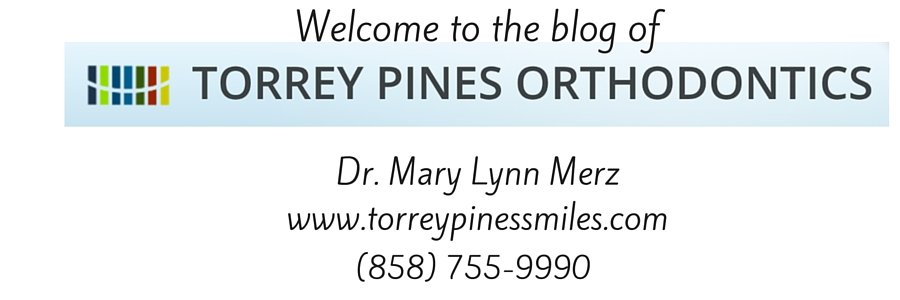 "TORREY PINES ORTHODONTICS BLOG:<br><a href=""http://www.torreypinessmiles.com"">Dr. Mary Lynn Merz</a>"
