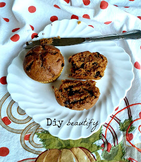 gingerbread chocolate chip muffin recipe