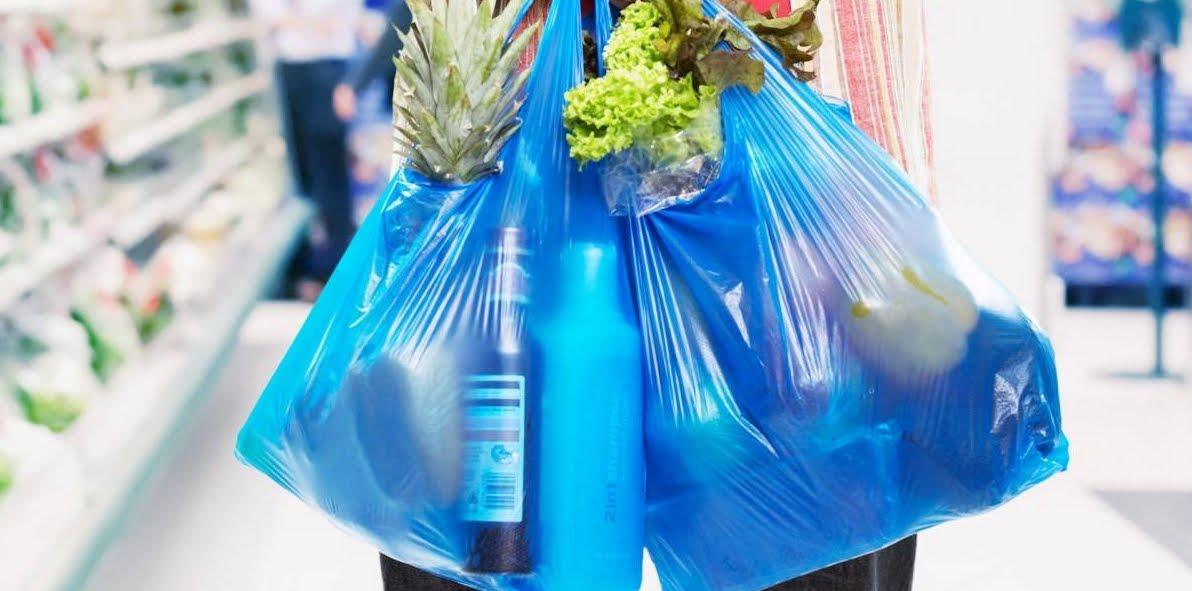 Borse di calcare al posto delle borse di plastica al petrolio.