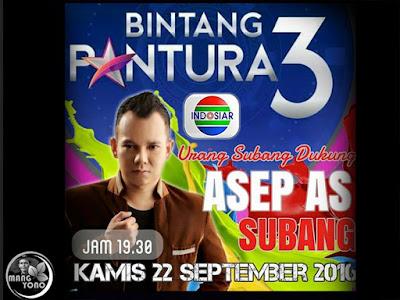 Asep AS tampil di ajang Bintang Pantura 3 Indosiar