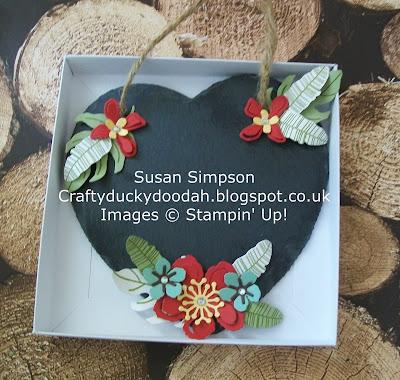 Stampin Up! UK Independent  Demonstrator Susan Simpson, Craftyduckydoodah!, Botanical Blooms, Botanical Builder Framelits Dies, Supplies available 24/7,
