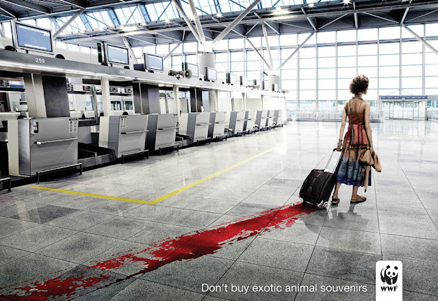 衝撃的でクリエイティブ、世界自然保護基金WWFの面白い広告