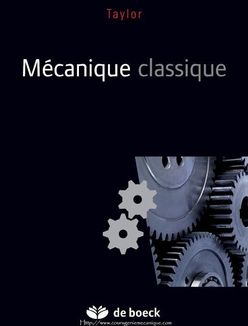 Télécharger Livre : Mécanique Classique en pdf