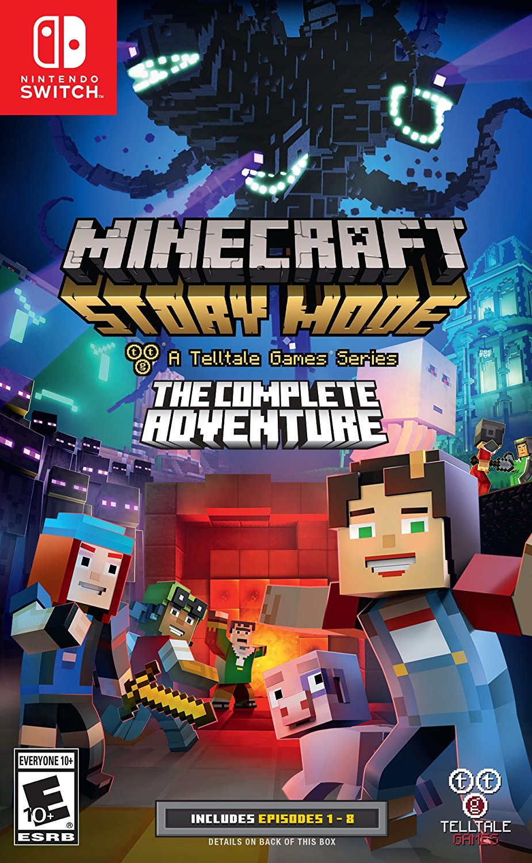 Minecraft Story Mode costará 10 dólares más en Nintendo Switch