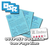 Frugal GM Review: Outpost Owlbear (One Page Zine)