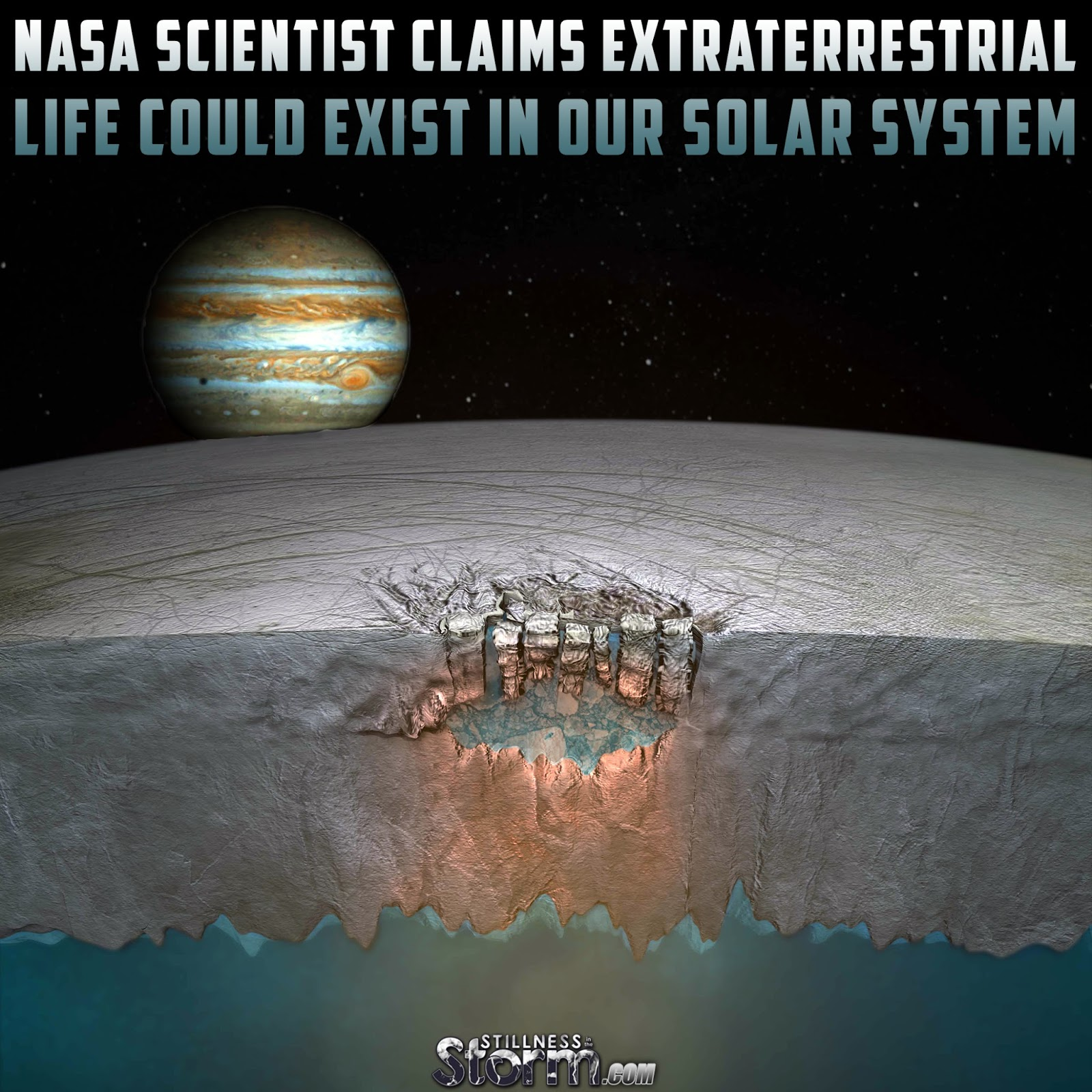 NASA Scientist Claims Extraterrestrial Life Could Exist in ...