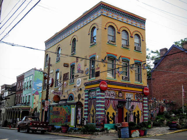 Randyland in the Mexican War Streets neighborhood of Pittsburgh