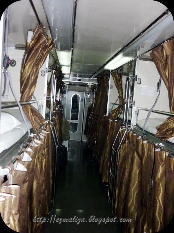 Inilah Rupa Setiap Koc Gerabak Keretapi Itu Katil Double Decker Seperti Dalam Dorm Asrama