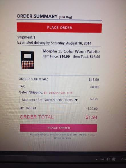 Morphe coupon code 2018