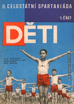 Celostátní spartakiáda II. Mládí a krása. 1960.