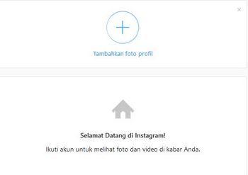 daftar instagram di pc