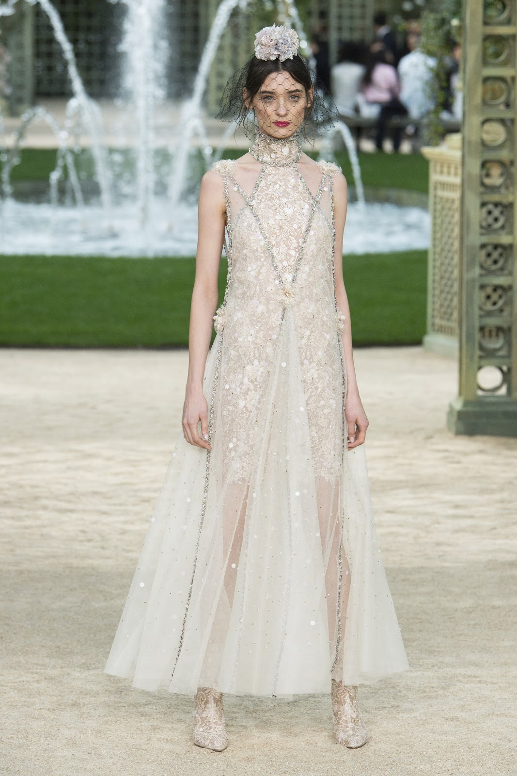 Runway: Chanel Haute Couture Spring/Summer 2018, Paris ...