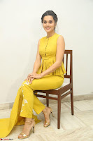 Taapsee Pannu looks mesmerizing in Yellow for her Telugu Movie Anando hma motion poster launch ~  Exclusive 023.JPG