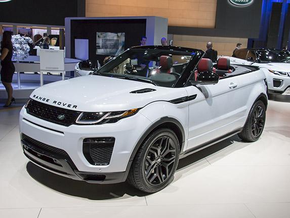2017 Range Rover Configurations >> New Range Rover Evoque Convertible Next Car One