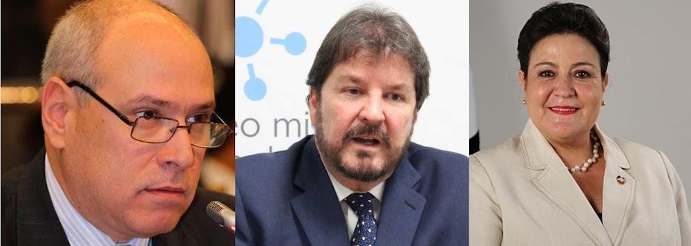 Los sobresueldos de Margarita de Escobar, Rodrigo Ávila y Luis Cardenal
