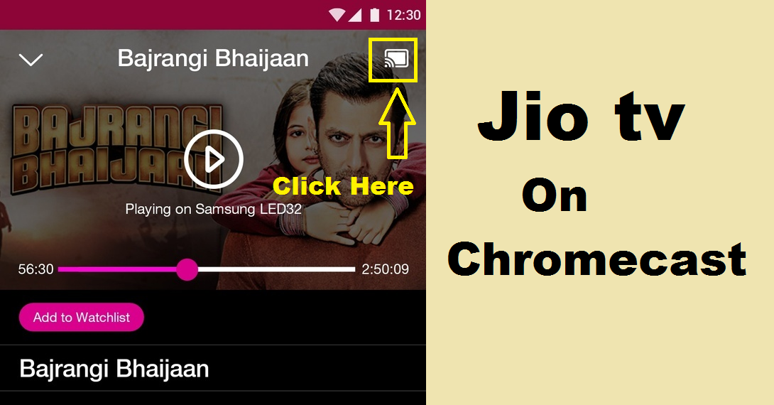 Jio TV On Chromecast- How to Watch JioTV on Smart TV Cast Option