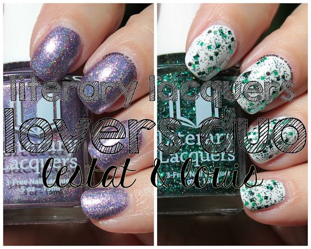 Literary Lacquers Lovers Duo - Lestat and Louis