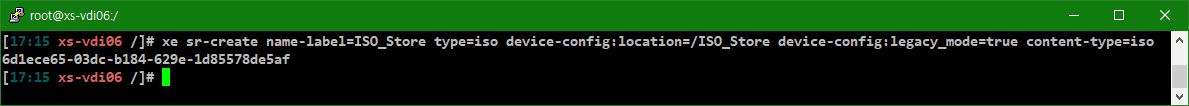 [VM] XenServer와 XCP-ng에서 로컬 ISO 저장소 만들기