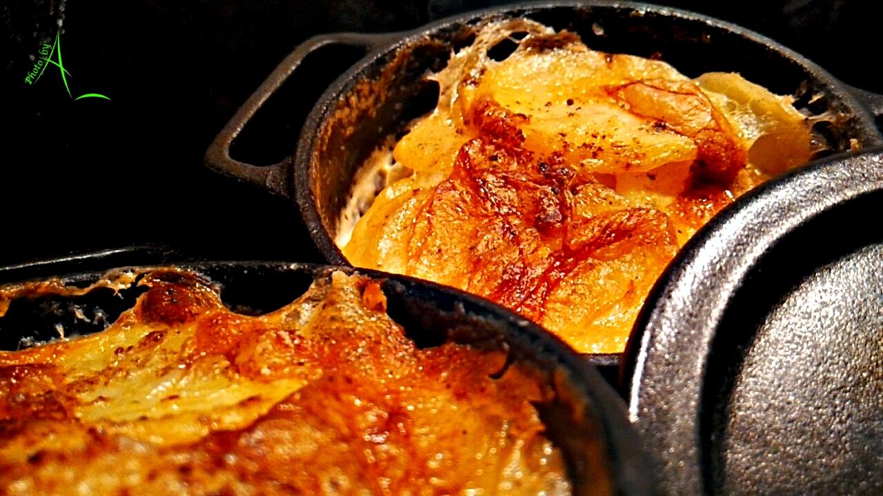 La cuisine de christine gratin dauphinois en mini cocotte for La cuisine de christine