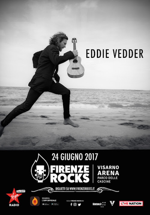 THE SKY I SCRAPE: Eddie Vedder to Play Firenze Rocks Festival