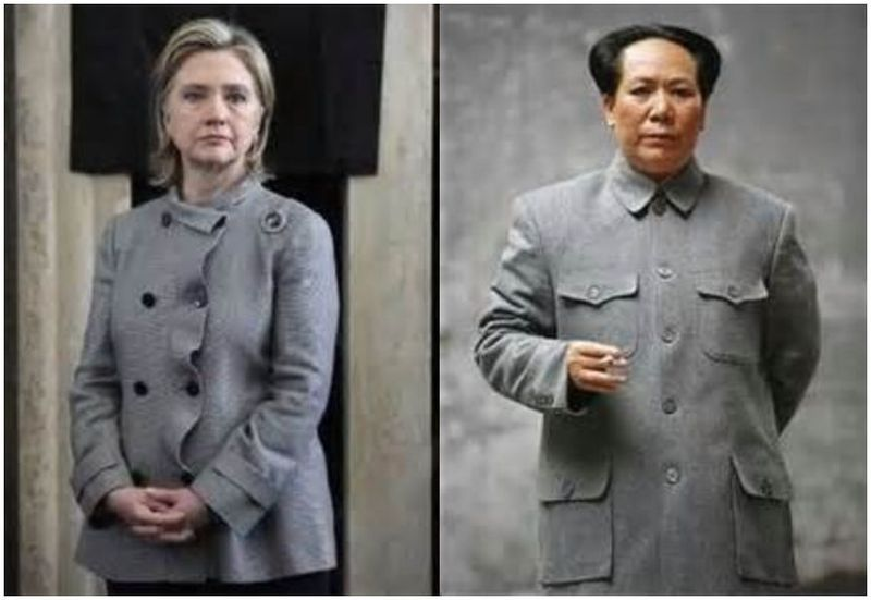 Image result for hillary mao suit