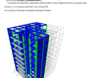 calcul béton armé avec calcul de dimensionnement et étude sismique.