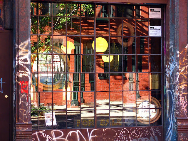 Elizabeth-Street-Reflections-Little-Italy-NYC