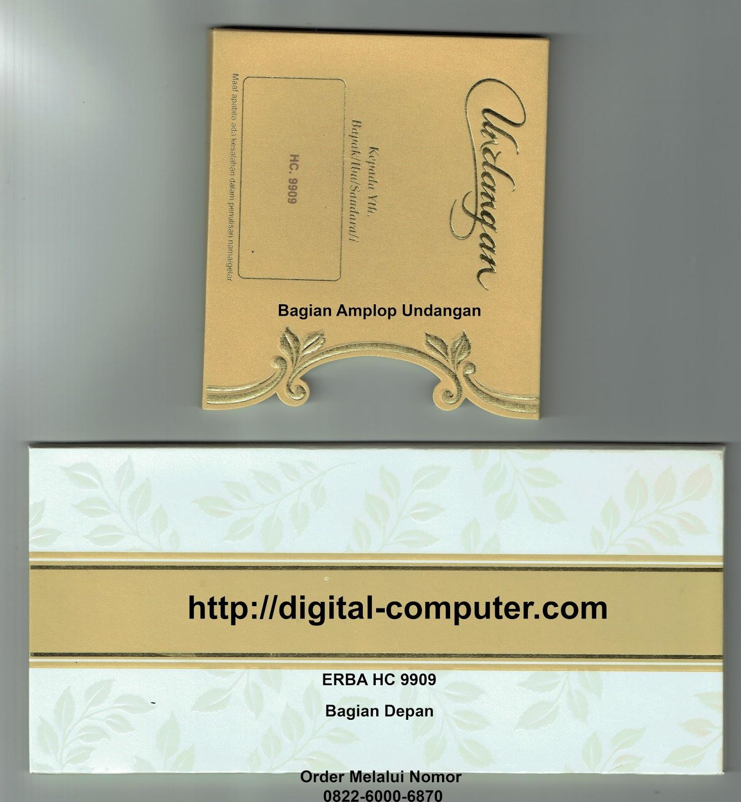 undangan hardcover ERBA HC-9909