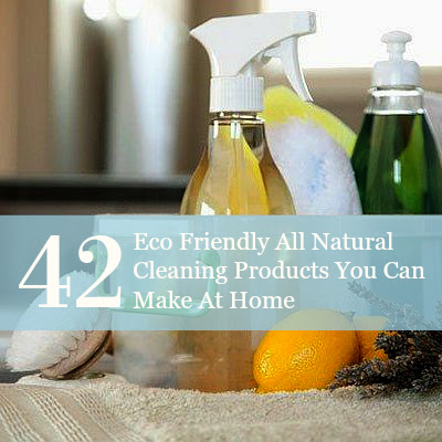 42 Eco Friendly All Natural Cleaning Products You Can Make At Home