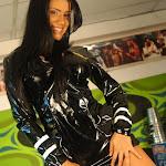Andrea Rincon, Selena Spice Galeria 5 : Vestido De Latex Negro Foto 43