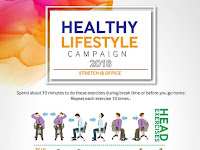 HEALTHY LIFESTYLE CAMPAIGN 2018