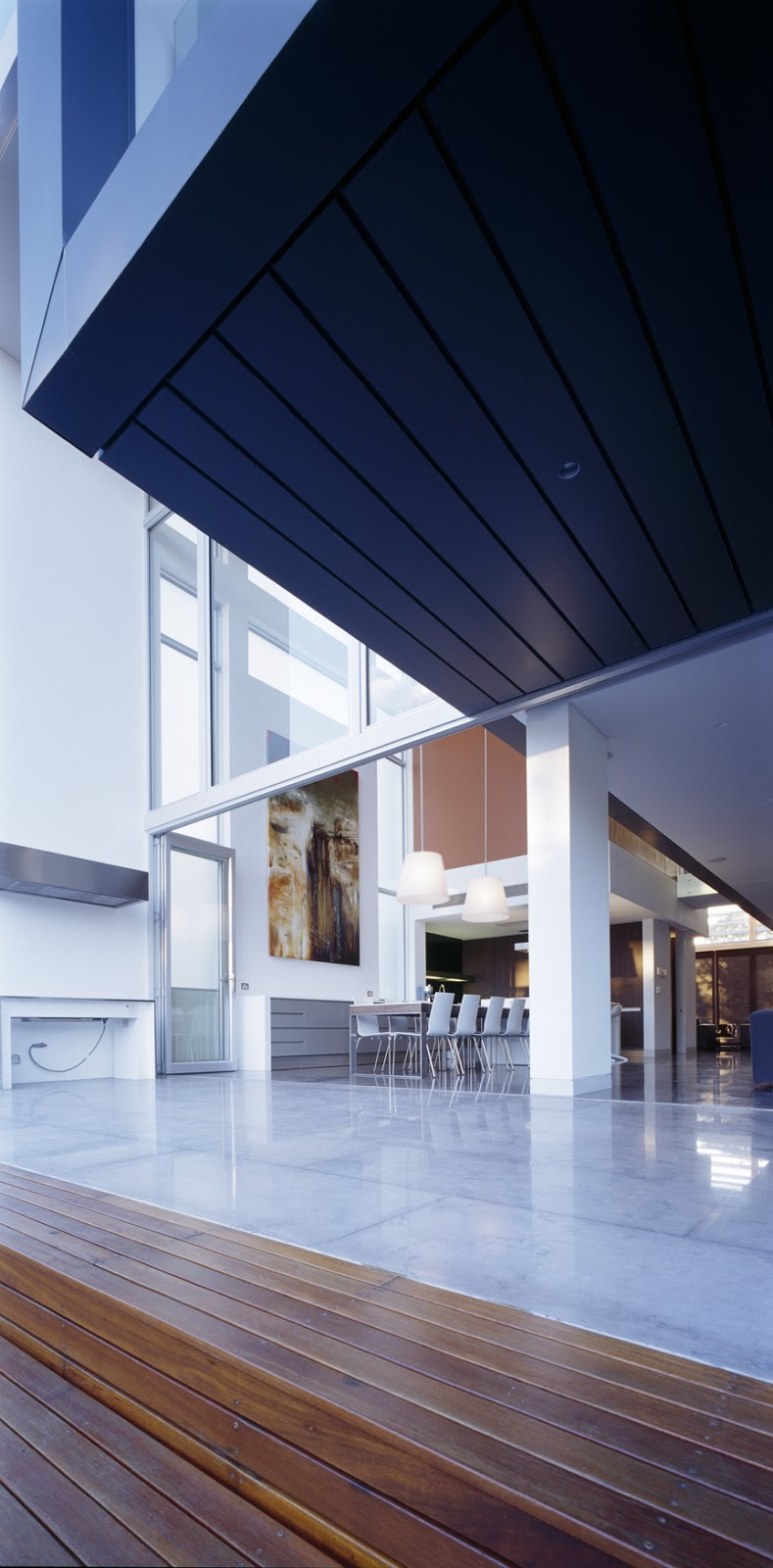 kitchen table bench seat cabinets white minosa: sensory interior delight by minosa