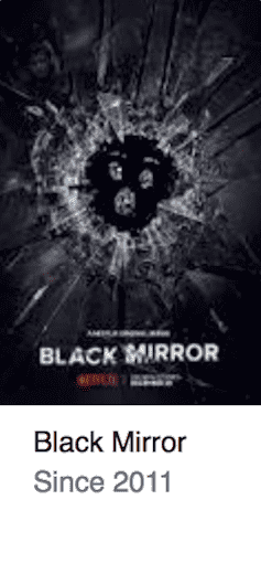 Black Mirror Best TV Series