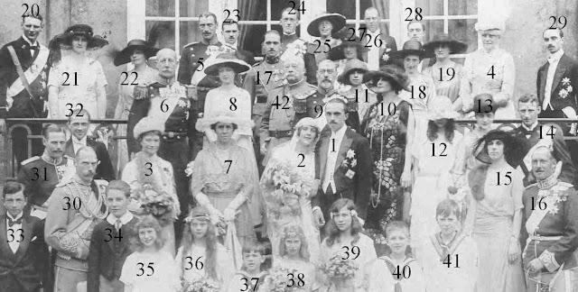 Familles impériales et royales de Russie, Danemark, Grèce, Parme...