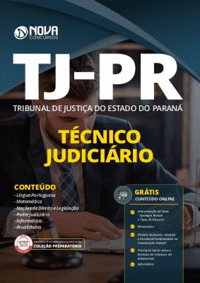 Apostila Concurso TJ PR 2020 Técnico Judiciário Grátis Cursos Online