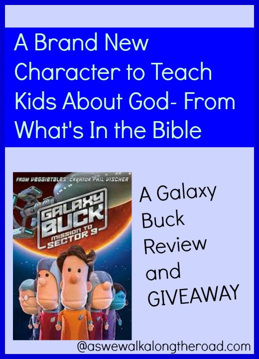 Review and giveaway of Galaxy Buck from What's In the Bible
