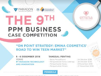 "Lomba Bisnis Plan Nasional 2018 ""The 9th PPM Business Case Competition"""
