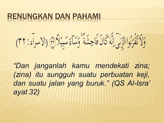 Isi Kandungan Surat Al Isra Ayat 32, Lengkap dengan Artinya