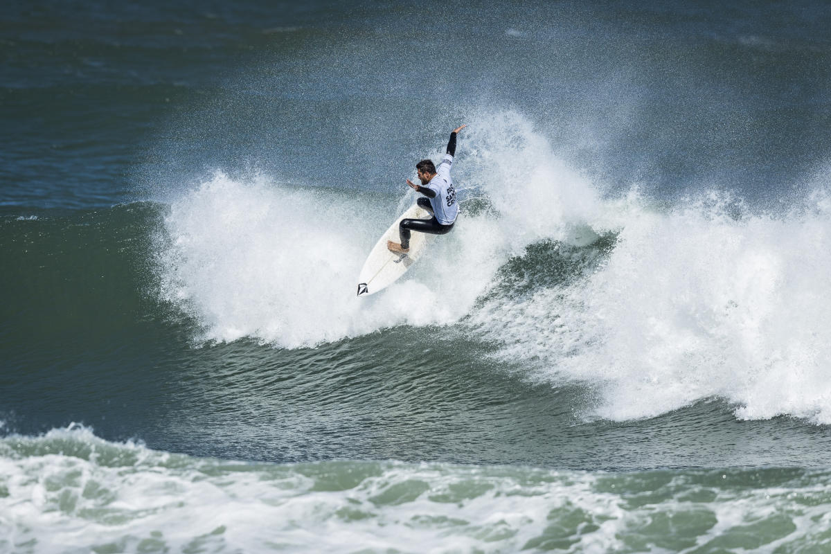 Pro Santa Cruz pres by Oakley Highlights Incredible Surfing Graces Day 4 in Portugal