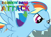 Rainbow Dash Attack