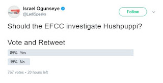 Nigerians Blows Whistle for EFCC to investigate Hushpuppi