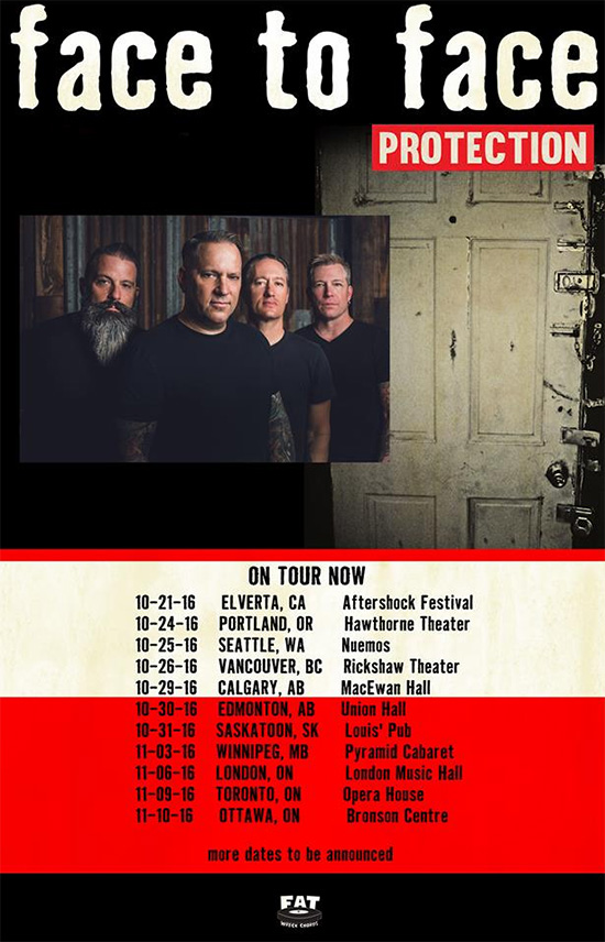 Face To Face announce US and Canada tour