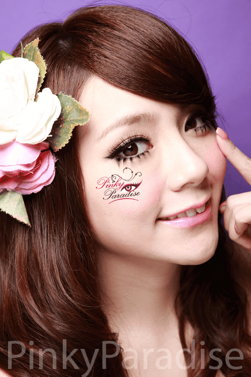 30Days Natural Circle Black Circle Lenses (Colored Contacts)