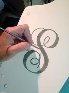 handpaint monogram