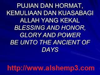 Lirik dan Kord Lagu Allah Yang Kekal - Ancient Of Day