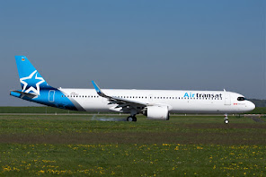 1st A321Neo for Air Transat