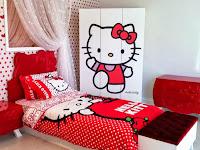 Desain Interior Kamar Tidur Anak Perempuan